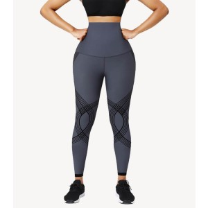 Shapellx NeoSweat™ High Waisted Tummy Control Leggings - Best Leggings for Plus Size: Weightless and Stretching Fabric
