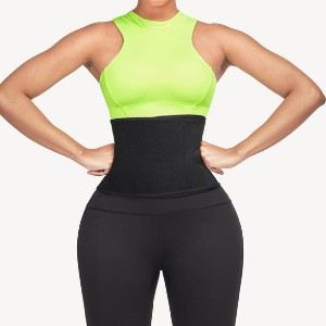 Shapellx NeoSweat™ Workout Shorts with Waist Trimmer - Best Waist Trainer for Lower Belly Fat: Comfortable to Wear When You Work Out
