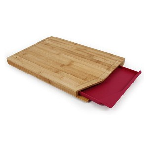 Neoflam Bamboo Cutting Board with Tray - Best Cutting Board with Trays: Sleek and minimalist