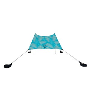 Neso 1 Sunshade - Print - Best Beach Tents for Shade: Simple Shelter with Chic Pattern Design