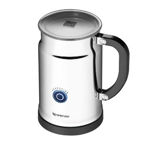 Nestle Nespresso Aeroccino Plus Milk Frother - Best Milk Frother for a Latte: Detachable Base for Easy Clean