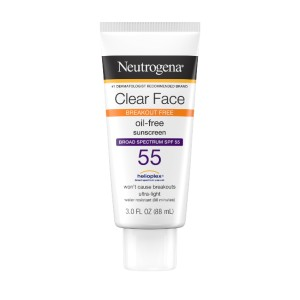 Neutrogena Clear Face Liquid Lotion Sunscreen for Acne-Prone Skin - Best Sunscreen Non Comedogenic: Sunscreen for Body and Face