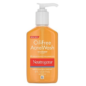 Neutrogena Oil-Free Acne Wash - Best Face Cleanser for Acne and Oily Skin: Face Wash with Acne Treatment