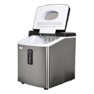 New Air Compact Portable Ice Maker - Best Portable Ice Maker: Versatile Placement Ice Maker