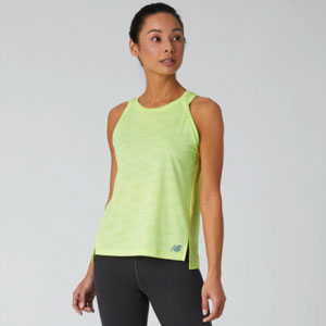 New Balance Q Speed Jacquard Tank  - Best Women's Running Shirts: Stay cool with NB ICEx technology
