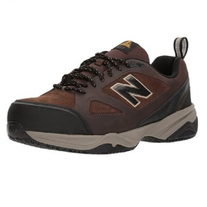 New Balance Men's Steel Toe 627 Suede Industrial Shoe - Best Safety Toe Shoes: Sporty Working Shoes