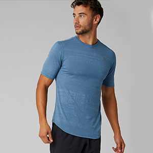 New Balance Q Speed Breathe Short Sleeve - Best Men's Running Shirt: Extra dry with NB ICEx and NB DRYx