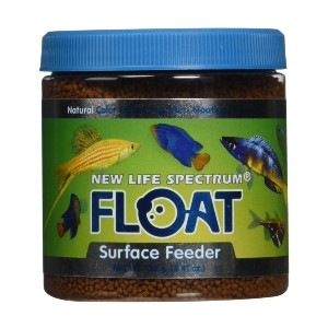 New Life Spectrum Float Surface Feeder - Best Fish Food for Guppies: Improve Color Spectrum Food