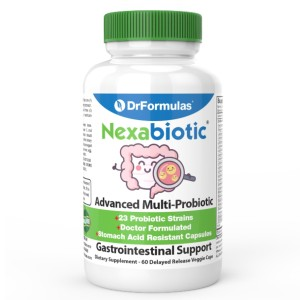 DrFormulas Nexabiotic - Best Prebiotics Supplements for Weight Loss: Improve Weight Loss