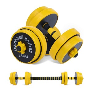 Nice C Adjustable Dumbbell Barbell Weight Pair - Best Barbell for Home Gym: Dumbbell or barbell? Both!