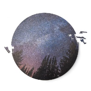 uncommon goods Night Sky Wooden Puzzle - Best Wooden Puzzles: Handmade in Shoreline, Washington