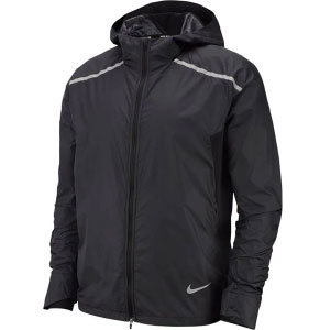 Nike Shield Running Jacket - Best Rain Jackets for Running: Machine Washable and Multiple Ventilation Points