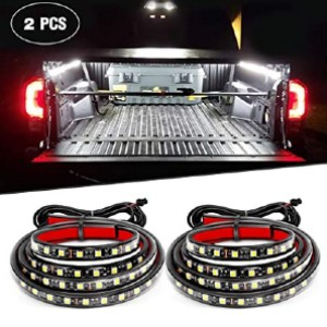 Nilight TR-05 2PCS 60 Inch 180 LEDs Bed Strip Kit - Best LED Truck Bed Lights: Five times stickier