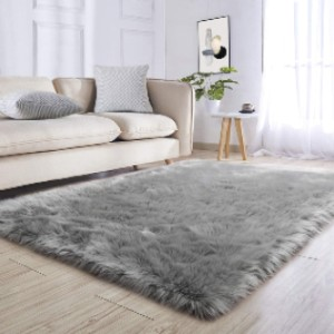 Noahas Luxury Fluffy Rugs Bedroom  - Best Rug for Queen Size Bed: Your pet will love it