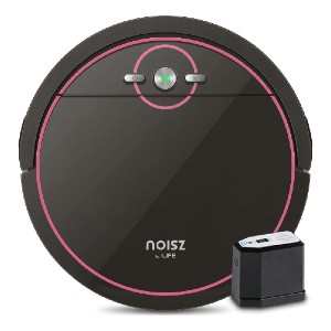 ILIFE Noisz by ILIFE S5 Robot Vacuum Cleaner  - Best Robot Vacuum Cleaner for Pet Hair: Slim and Smart