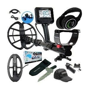 Nokta Makro Anfibio Multi Detector Bundle - Best Metal Detector for Relic Hunting: Great Features for All Relic Hunters