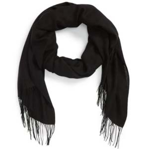 Nordstorm Tissue Weight Wool & Cashmere Scarf - Best Scarves for Winter: Versatile for all seasons