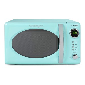 Nostalgia RMO7AQ Retro Countertop Microwave Oven - Best Microwave for Dorm: Aesthetically pleasing
