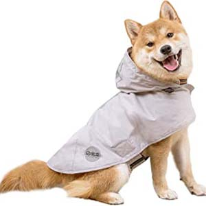 Nourse Chowsing Dog Raincoat - Best Raincoats for Big Dogs: Classy with high quality