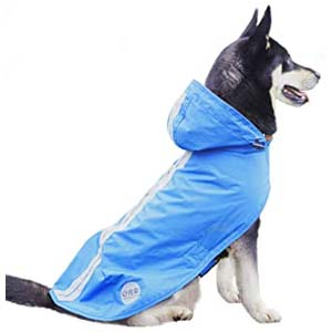 Nourse Chowsing Dog Raincoat - Best Raincoats for Big Dogs: Cover up to the tail