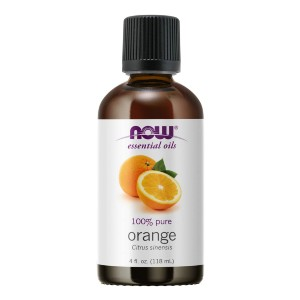 Now Essential Oils Orange Oil Uplifting Aromatherapy Scent - Best Aromatherapy for Anxiety: Refreshing Orange Essential Oil