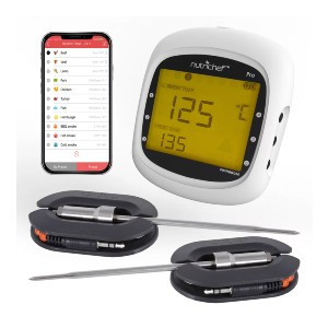 NutriChef Pro - Best Food Thermometer for Grilling: You'll get notifications
