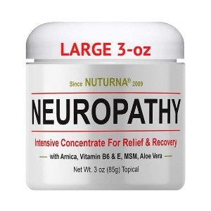 Nuturna Neuropathy Nerve Relief Cream - Best Foot Creams for Neuropathy: Increase Blood Circulation