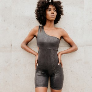 Solely Fit Nzinga Shine Bodysuit - Best Activewear Sets: Chic in comfort