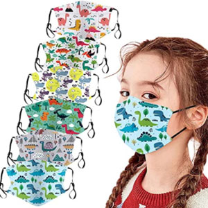 OAMDN Kids Reusable Face Bandanas Kawaii Covering Cotton for Children - Best Masks for Kids: Face Mask with Cute Pattern