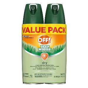 OFF! Deep Woods Bug Spray & Mosquito Repellent - Best Mosquito Repellent Spray for Body: Long-Lasting Protection