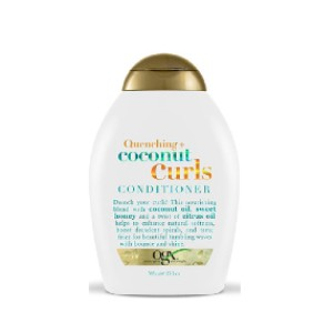 OGX Quenching Coconut Curls Conditioner - Best Conditioner for Curly Hair: Coconut Oil, Honey, and Citrus Conditioner Formulation