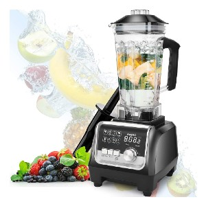 OMMO Professional Countertop Blender - Best Blender for Smoothie Bowls: Healthy, Safety and Hygiene