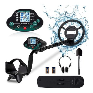 OMMO Metal Detector - Best Gold Nugget Detector: Three Distinct Operating Modes