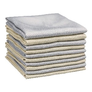 ONED 10 Packs of Reusable Non-Marking Microfiber Cleaning Cloths  - Best Towel to Clean Car Windows: Super-Thin Towel