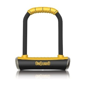 ONGUARD ONG: 8001 BRUTE STD U-LOCK - Best Lock for Electric Bike: Made in China