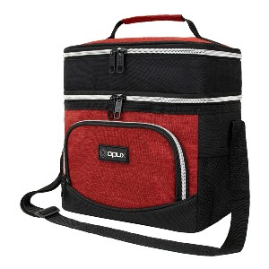 OPUX Insulated Dual Compartment Lunch Box - Best Lunch Boxes Insulated: Separate Hot and Cold Food