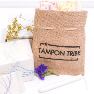 Tampon Tribe Organic Pads - Best Organic Overnight Pads:  Gentle on your skin