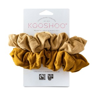 KOOSHOO ORGANIC SCRUNCHIES - Best Hair Scrunchies: On-Trend Colors to Pair with Any Outfit