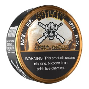 OUTLAW RAMBLIN' ROOTBEER DIP - Best Smokeless Tobacco: Like You just Cracked A Fresh Can of The Soda