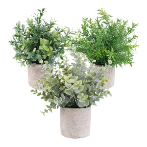 OUTLEE Eucalyptus - Best Artificial Plants for Indoors: Environmentally Friendly Material