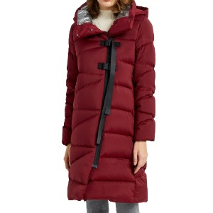 Orolay OWD1081W - Best Winter Coats for Women: 2 Side-Entry Pockets with Invisible Zipper