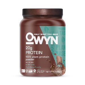 OWYN Only What You Need 100% Vegan Plant-Based Protein Powder - Best Mass Gainer Supplements: Gluten-Free, Dairy-Free, Soy-Free