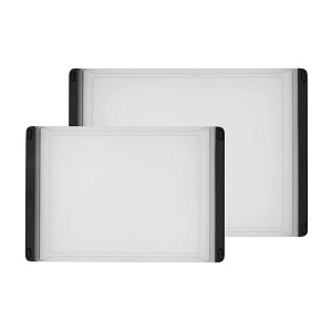 OXO Good Grips 2-Piece Cutting Board Set - Best Cutting Boards for Chicken: Perfect pair for every task