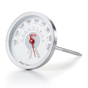 OXO Analog Thermometer - Best Meat Thermometer Test Kitchen: Best for budget