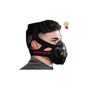 OXYGEN ADVANTAGE SPORTSMASK Designed by Breathing Expert Patrick McKeown | Altitude Training at Sea Level Training Mask, Fitness Mask & Sports Mask - Best Masks for Working Out: Adaptable and Good For High Altitude Training!