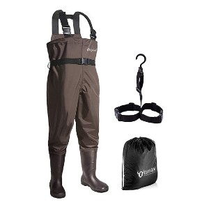 OXYVAN Waterproof Lightweight Fishing Waders - Best Waders for Duck Hunting: Breathable but toasty