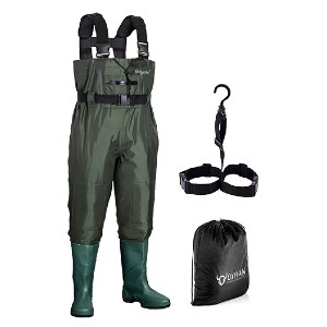 OXYVAN Waterproof Lightweight Fishing Waders - Best Bootfoot Waders: Breathable and toasty