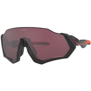 Oakley Flight Jacket Prizm Sunglasses - Best Sunglasses for Road Cycling: Open Brow Design