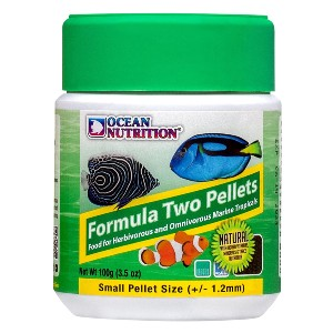 Ocean Nutrition Formula Two Pellets - Best Fish Food for Fast Growth: Omnivore and Herbivorous Food