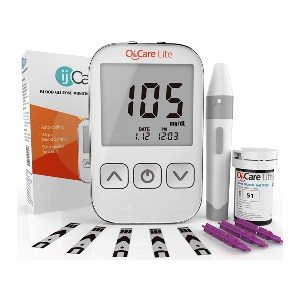 ijCare Oh'Care Lite Blood Sugar Test Kit - Best Glucometer on the Market: Five depth settings
